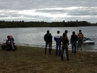 второй день... в воду уже никому не хочется :)
